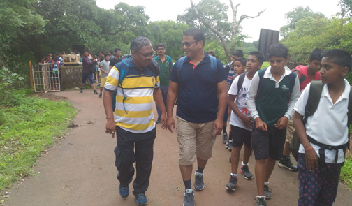 SCHOOL TRECKING FORM PAWAN KHIND TO PANHALA